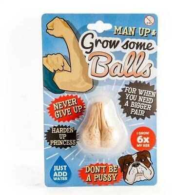 NEW Grow Some Balls - Add Water & They Grow to 6 Times Their Size
