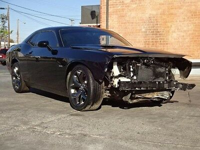 2015 Dodge Challenger R/T 2015 Dodge Challenger R/T Coupe Damaged Salvage Only 38K Miles Perfect Fixer!!