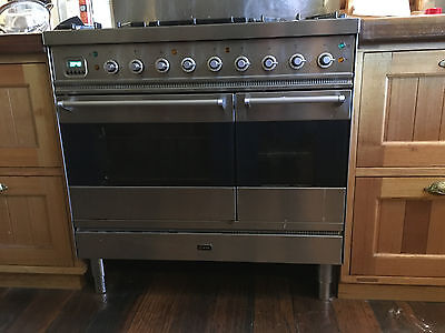 Ilve 6 Burner gas/electric oven