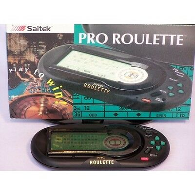 Brand New ELECTRONIC CASINO GAMES ROULETTE-HAND HELD PORTABLE Virtual Game 686