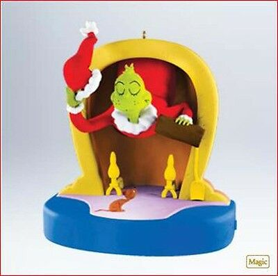 2011 Hallmark GRINCH Ornament MEAN MR. GRINCH Stole Christmas *Priority Shipping