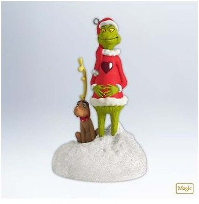 2012 Hallmark GRINCH Magic Ornament GROWING HEART OF THE GRINCH *Priority Ship