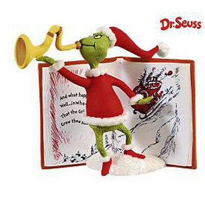2009 Hallmark GRINCH Ornament CHRISTMAS MEANS SOMETHING MORE Seuss *Priority