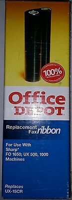 Office Depot UX-15CR Sharp Fax Ribbon Replacement