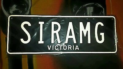 SIRAMG Mercedes AMG Victorian number plates