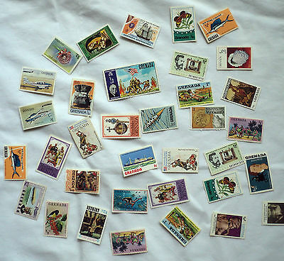 Grenada Stamps mixed lot