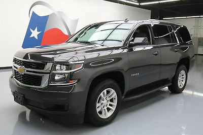 2015 Chevrolet Tahoe LT Sport Utility 4-Door 2015 CHEVY TAHOE LT HTD LEATHER NAV REAR CAM ALLOYS 54K #245735 Texas Direct