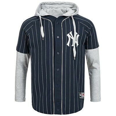 new York Yankees Majestic Shirt MLB Long sleeve Sports Baseball Jersey Sweater