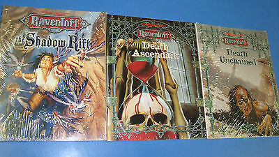 3x Ravenloft Books Adventures Accessories New Used Dungeons and Dragons 2.0