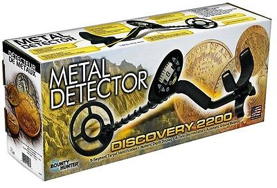 Bounty Hunter Discovery 2200 Metal Detector w/ PinPointer