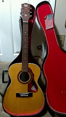 VINTAGE 1972 HARMONY Stella Full size Solid Wood USA Made