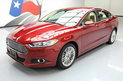 2014 Ford Fusion  2014 FORD FUSION SE ECOBOOST LUX HTD LEATHER ALLOYS 37K #360909 Texas Direct