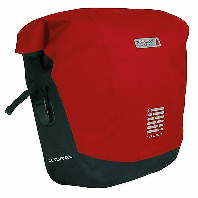 Altura ARC 20 Roll Top Bike/Cycle/Cycling Lugagge Pannier Bag - Red