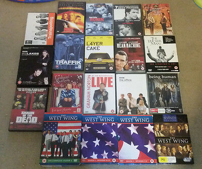 Bulk Lot Of Dvd's (Mixed Region 2 And 4) (Tv Series, Movies)