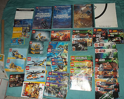 Huge Lot of Instruction Manuals and Various Lego paperwork