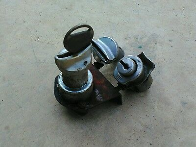 Morris austin leyland mini ignition barrel and 2 door locks with key