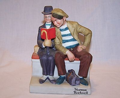 The 12 Norman Rockwell Porcelain Figurines - The Interloper