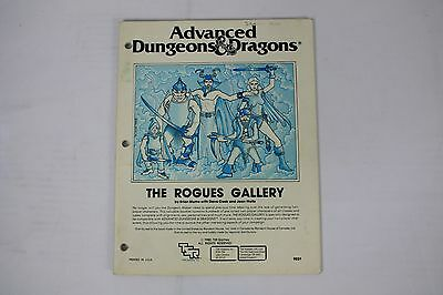 The Rogues Gallery 1980 TSR #9031 Dungeon Master Advanced Dungeons & Dragons
