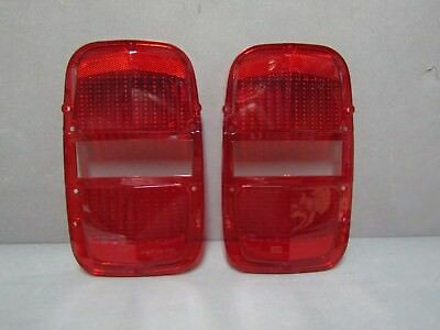 67 Ford Fairlane taillight lenses Ford licensed tail lamp