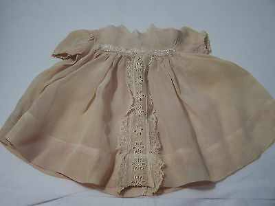 "Vintage Baby Doll Dress will Fit Ideal 14"" Betsy Wetsy Size & Type Dolls G272-1"