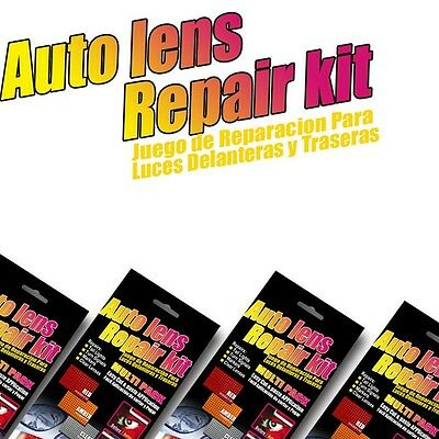 Auto Car Lens Repair Tool Kit 3 Colors Multi-Pack Quick Fix Cracked Broken Tool