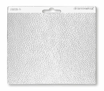 Staedtler Fimo Single LEATHER Texture Sheet Craft Art Fun 16.7cm x 14cm