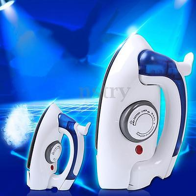 Portable Foldable Handheld Temperature Control Clothes Steam Steamer Travel Iron