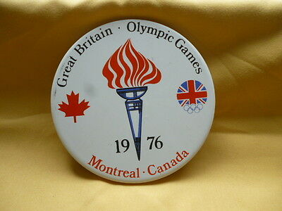 1976 Great Britain Canadian Montreal Olympic Games H & P Johnson Pottery  #RB