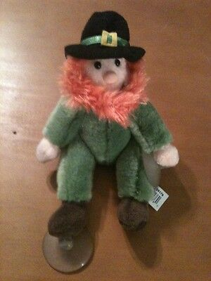 Russ Plush Leprechaun With Suction Cups