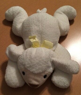 Ty Pillow Pals White Sheep Plush