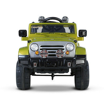 Kids Electric Ride on Car w/ Remote Control Green 12V