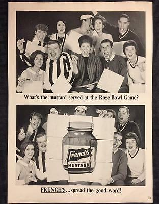 Original 1965 FRENCH'S Mustard Ad ~ Vintage Advertisement