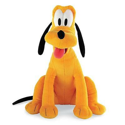 Mickey Mouse Clubhouse PLUTO Stuffed Plush Soft Toy Doll Dog Figure Disney NEW