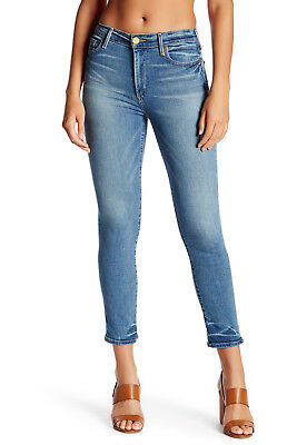 New True Religion Women's Cora Straight High Rise Cropped Jeans $199 Size:26 27