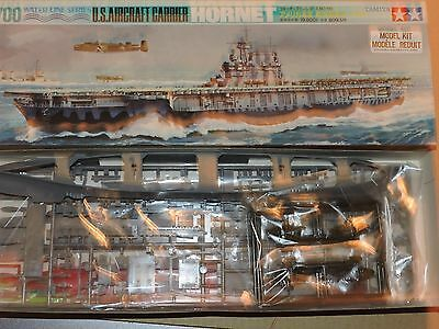 TAMIYA 1:700th USS HORNET WW2 CARRIER  # WLA-110 NO ASSEMBLY INSTRUCTIONS