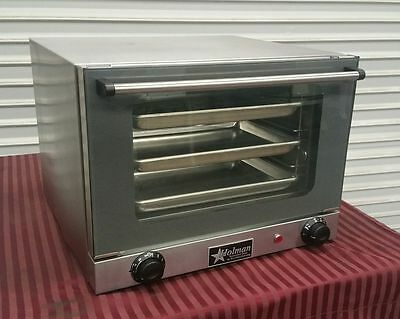 Electric Convection Oven Star CC003 Holman NSF Bakery 1/4 Sheet NSF Commercial