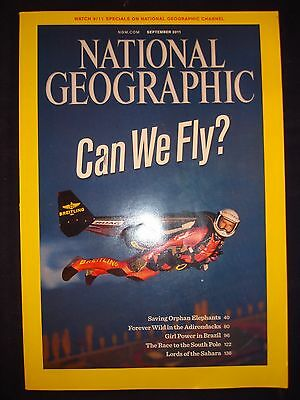 National Geographic - September 2011 - Can we fly?