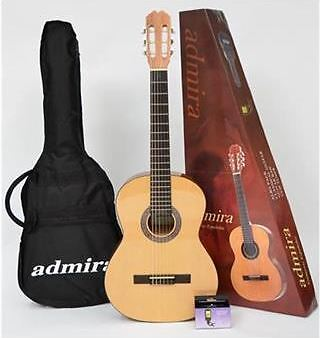 Admira Alba 4/4 Size Classical Guitar - Student Package