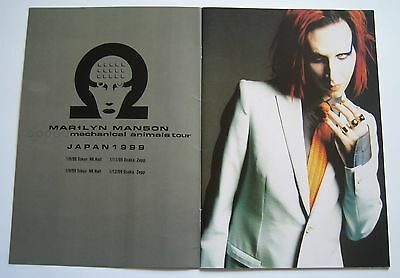 Marilyn Manson Tourbook Mechanical Animals Japan (Mint Condition)