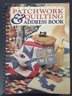 Patchwork And Quilting Address Book