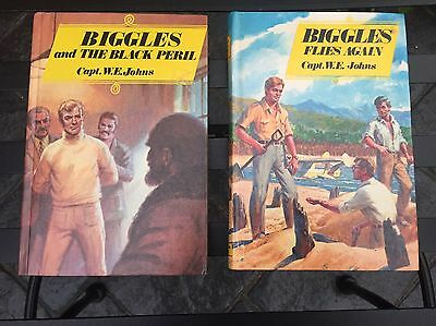 BIGGLES  (COLLECTABLE)  NOVELS –  by CAPT.  W.E. JOHNS