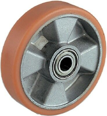Wheel in aluminium e Polyurethane for Pallet trucks Trolleys