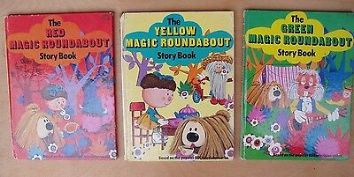 Vintage Magic Roundabout for Christmas?? Colour Storybooks!