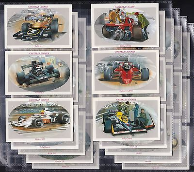Wills Castella Issue, Donington Collection, Set Of 30 Issued In 1993.