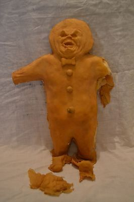 ORIGINAL production-made GINGERDEAD MAN horror film movie prop Charles Band Moon
