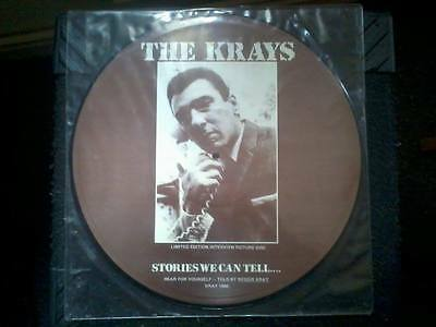 The Krays - Stories we can tell Limited Edition picture vinyl disc EX