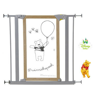 New Hauck Disney Winnie The Pooh Trigger Lock Pressure Mounted Baby Safety Gate