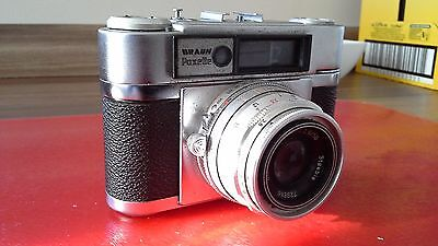 BRAUN PAXETTE CAMERA with 50mm lens