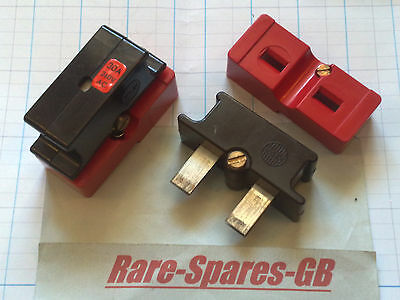 Wylex C30 Cartridge Fuse + Carrier 30 Amp 30A Red Plug In Type Push In * Hrc Hbc