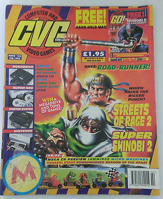 Computer & Video Games / CVG Magazine Issue 135 February 1993
